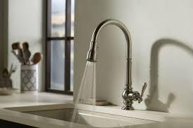 kohler single kitchen faucet unique 3 function spray kohler single kitchen faucet
