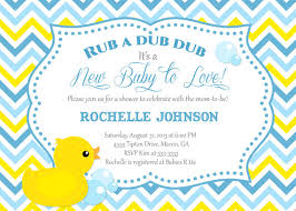 duck baby shower invitations rubber duck baby shower invitations reduxsquad