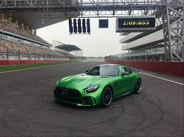 bagged mercedes e class fastest car in india mercedes amg gt r laps bic in just 2 09 583