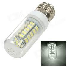 24v led light bulb sencart e27 3w 120lm 6700k 68 smd 3528 led white light l