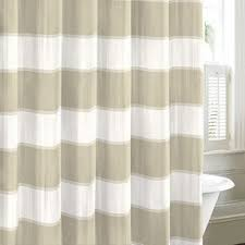 Wide Fabric Shower Curtain Cotton Shower Curtain Foter
