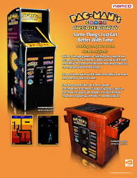 Make Your Own Arcade Cabinet by Namco Pac Man U0027s Arcade Party Upright Arcade Machine Liberty Games