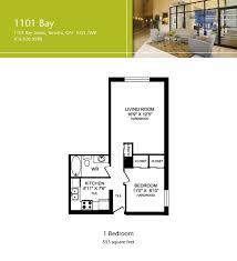 1101 bay street floor plans toronto canada