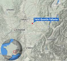 Map Of South Of France by Herve Cornara Beheaded In French Isis Attack Pictured Daily Mail