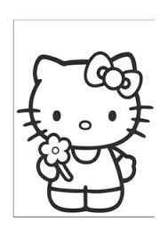 free printable hello kitty coloring pages picture 2 550x770