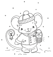 cute christmas mouse artsy fartsy lets creative