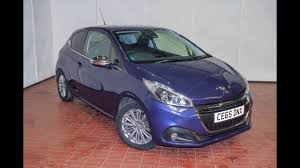 2nd hand peugeot wessex garages newport used peugeot 208 allure petrol manual