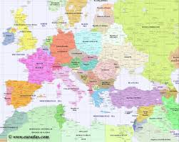 map or europe map of europe major tourist attractions maps