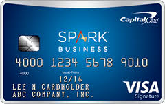capital one business credit card login spark select for business capital one