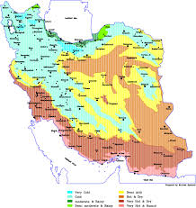 World Climate Map by Climate Of Iran Iran Traveling Center