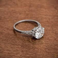 vintage weddings rings images Antique wedding rings varnished get your vintage feeling by jpg