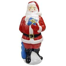 Outdoor Lighted Yard Christmas Decorations by Santa Claus Lighted Light Up Outdoor Yard Christmas Decoration