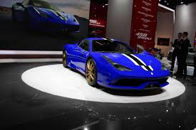 Ferrari 458 Gold - ferrari 458 speciale rendered in blue with gold wheels gtspirit