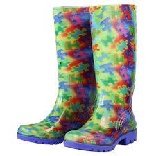 Rainboots Free Spirit Piece Of The Puzzle Ultralite Rain Boots The Autism