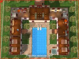 the sims house downloads home ideas and floor plans part 6 helluva hacienda 3 3 maxis inspired