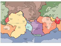 Map Of Caribbean And South America by Theory Of Plate Tectonics Lesson 0078 Tqa Explorer