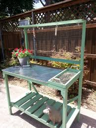Garden Potting Bench Recycled Pallet Potting Bench Idea 99 Pallets