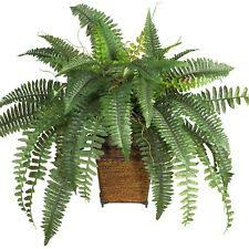 Home Decor Artificial Trees Silk Artificial Tree Leaves Bush Plant Decor Indoor Potted Basket
