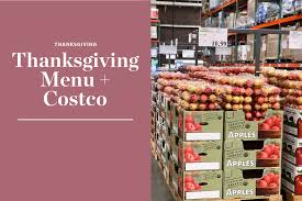 we shopped for thanksgiving ingredients at costco kitchn