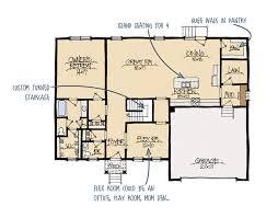 madison b house plan schumacher homes