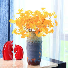 Gold Home Decor Accessories Online Buy Wholesale Artificial Gold Leaves From China Artificial