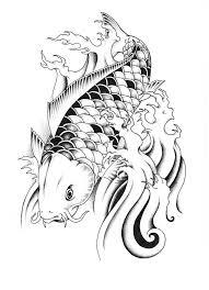 carp fish tattoo incredible dragon koi fish tattoo by unicyclebabyguy koi fish
