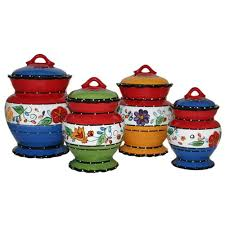 28 4 piece kitchen canister sets 4 piece canister set 4 piece kitchen canister sets viva collection deluxe handcrafted 4 piece kitchen