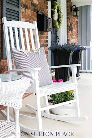Front Porch Patio Furniture by 118 Best Spring Porch Decorating Ideas Images On Pinterest Porch
