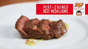 how to make port stained beef medallions mad delicious tips