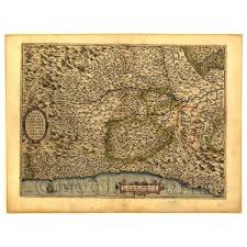Piedmont Italy Map by Old Maps Countries Dolls House Miniature Mytinyworld