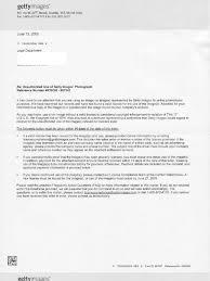 getty images settlement demand letter sample