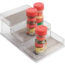 Linus Spice Rack Interdesign Twillo Multi Level Spice Rack Organizer Walmart Com