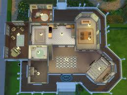Queen Anne Floor Plans by Mod The Sims 3 Bed 3 Bath Queen Anne Style House