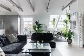 arredo mansarda moderno foto mansarda con arredi moderni e piante di rossella cristofaro