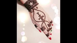 bracelet henna design 3 20 youtube