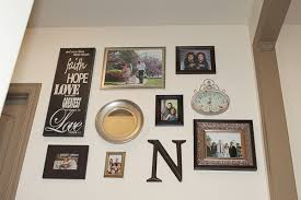 how to hang canvas art without frame pleasurable wall photo collage or how to hang art and picture diy