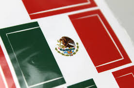 Colors Of The Mexican Flag Mexican Flag Sticker Flag Of Mexico Weatherproof Permanent
