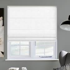 faux suede white roman blind direct blinds