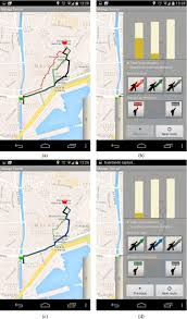 Map My Walk Route Planner by A Mobile And Interactive Multiobjective Urban Tourist Route