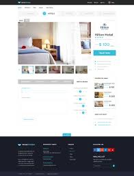 hotel finder online booking html website template by bestwebsoft