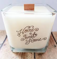 New House Gift Home Sweet Home Soy Candle Housewarming Candlenew House