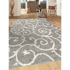 Grey And Beige Area Rugs Interior Contemporary Gray And White Swirl Area Rug For Marvelous