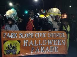 park slope civic council halloween parade