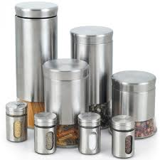kitchen canisters stainless steel kitchen canister set coffee sugar tea flour storage organiser