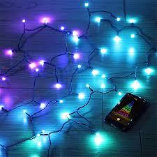 twinkly string lights app controlled thinkgeek