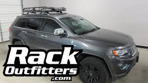 jeep grand luggage rack jeep grand with rhino rack large xtray roof rack cargo