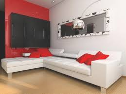 red and black living room decorating ideas black and red living
