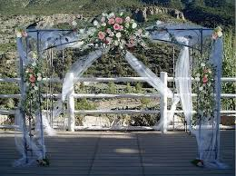 wedding arch las vegas ceremony decor wedding florist for las vegas nv