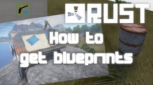 find housing blueprints rust how to get blueprints 2015 youtube