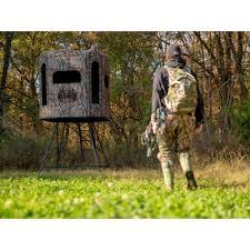 Redneck Hay Bale Blind Redneck Blindsu0027 The Trophy Tower Crossover Hunting Blind